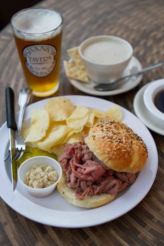 Beef Sandwich - Shanks Tavern Menu